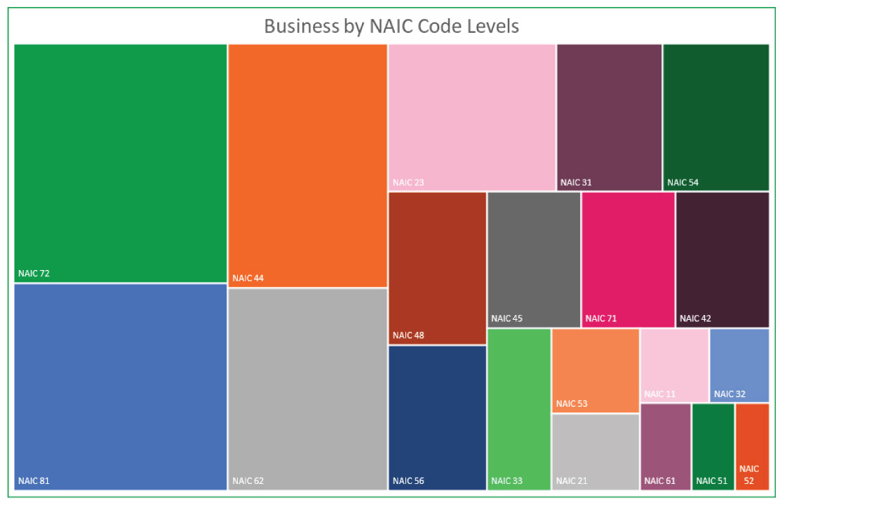 Business by NAIC Code Level